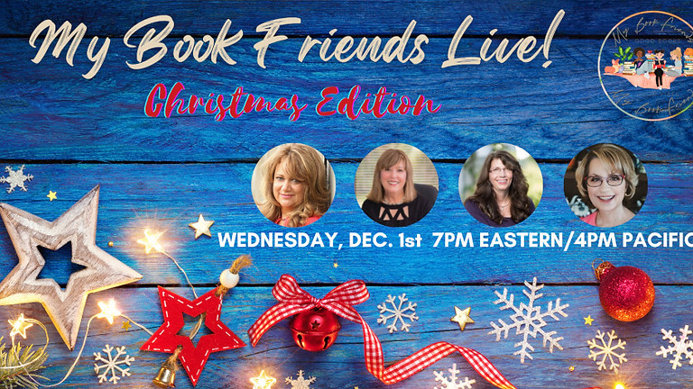 My Book Friends Live! Christmas Edition