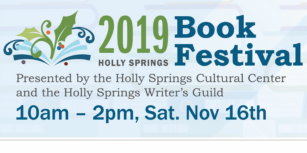 BOOK SIGNING: Holly Springs Book Festival