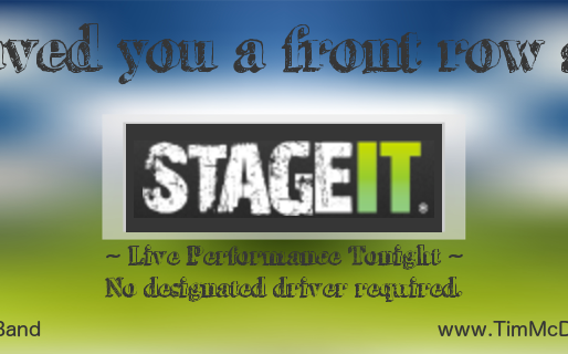 STAGEIT - a cool new way to watch concerts.