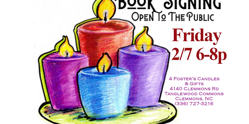 BOOK SIGNING: 4 Foster's Candles, Clemmons, NC