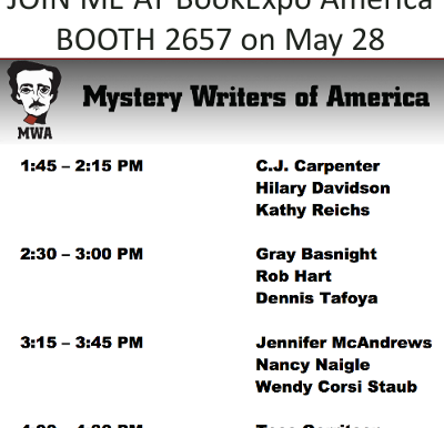 BookExpoAmerica Book Signing Today
