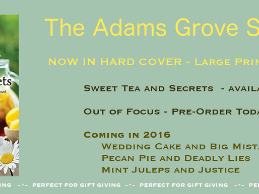 SWEET TEA AND SECRETS NEWS