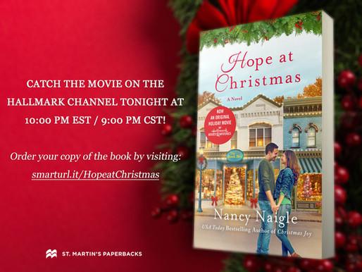 Book to Movie Adaptation Tonight on Hallmark Channel