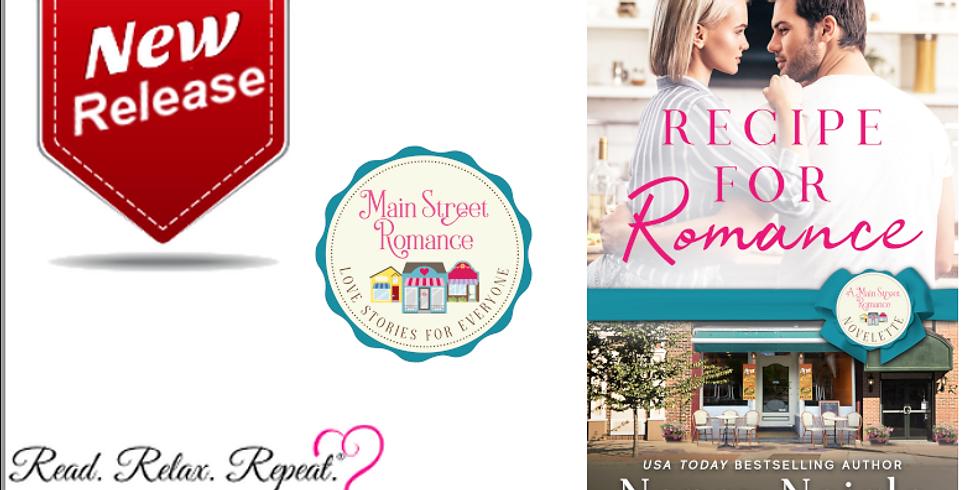 NEW RELEASE: Recipe for Romance