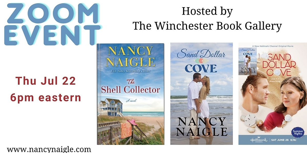 Winchester Book Gallery ZOOM Event with Nancy Naigle