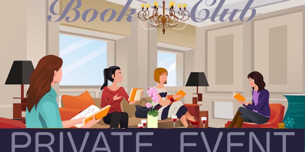 Private Book Club Event