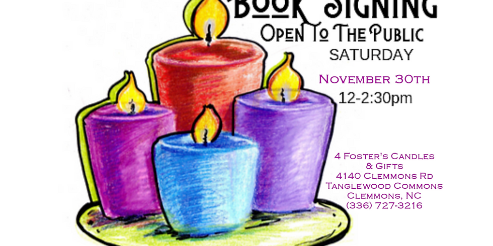 BOOK SIGNING: 4 Fosters Gifts in Clemmons, NC
