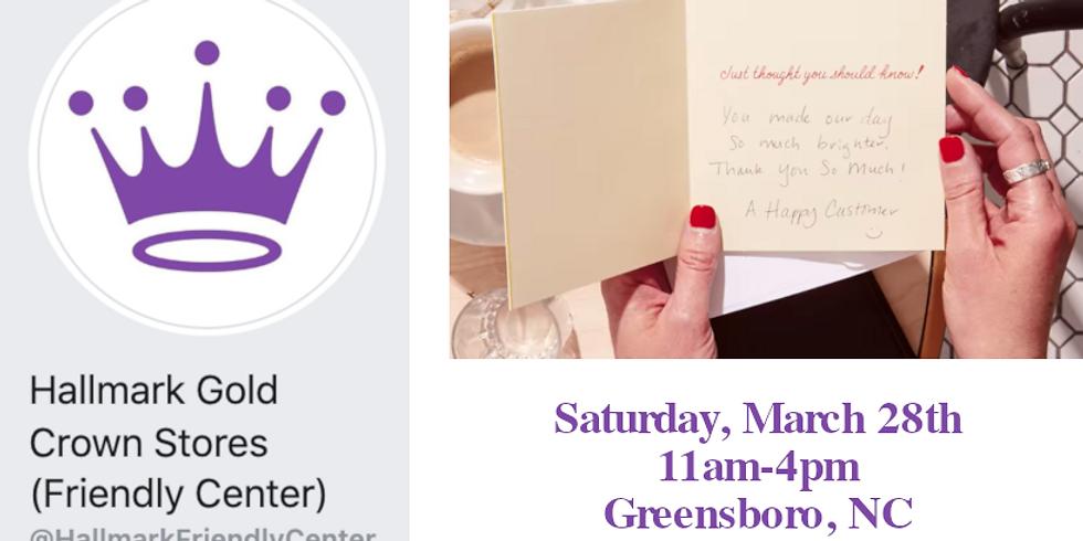 BOOK SIGNING: GREENSBORO, NC