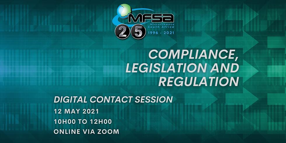 MFSA Digital Contact Session - Compliance, Legislation and Regulation