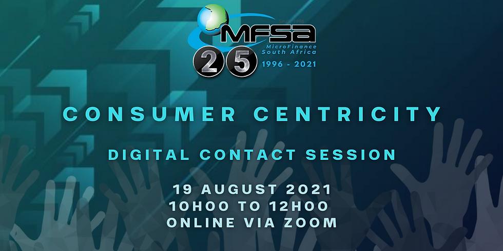 MFSA Digital Contact Session - Consumer Centricity