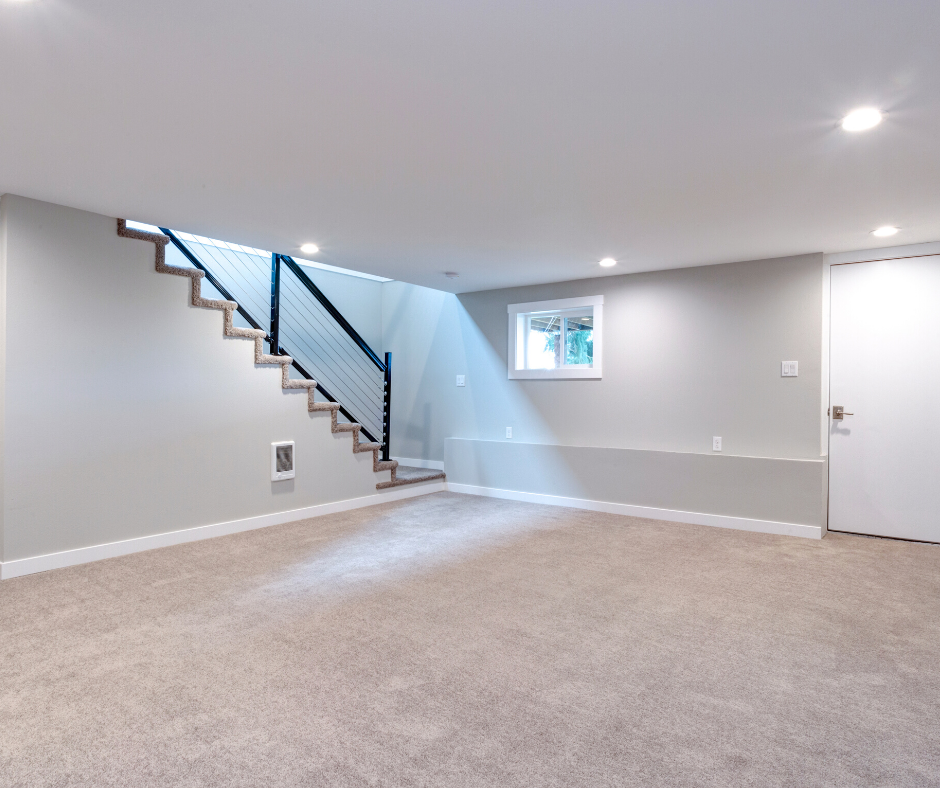 heating and cooling options for a finished basement