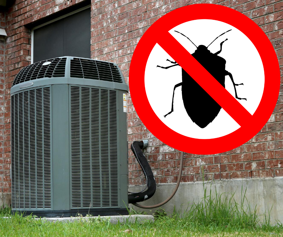 Keep Bugs Away from Your AC Unit