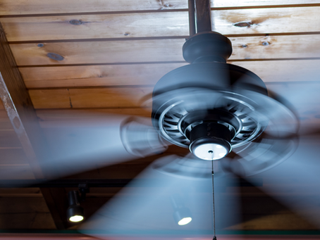 Does Running a Ceiling Fan Help to Keep the Room Cooler?