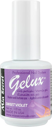 SWEET VIOLET GELUX GEL POLISH