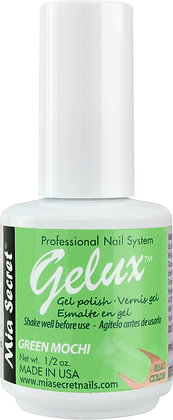 GREEN MOCHI GELUX GEL POLISH
