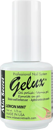 LEMON MINT GELUX GEL POLISH