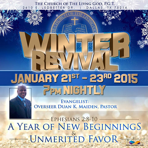 2015 Winter Revival Series