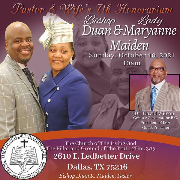 Co Pastor &  Wife's 7th Honorarium.jpg