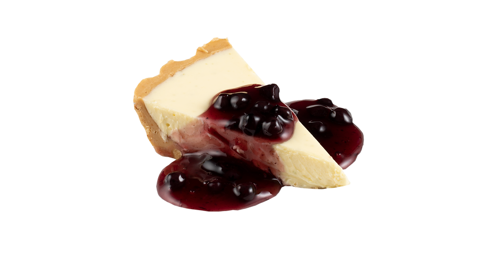 Cheesecake w/ Blueberry