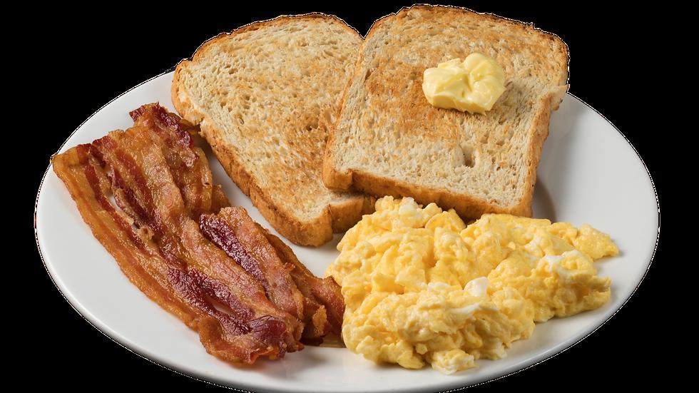 Egg, Toast & Bacon