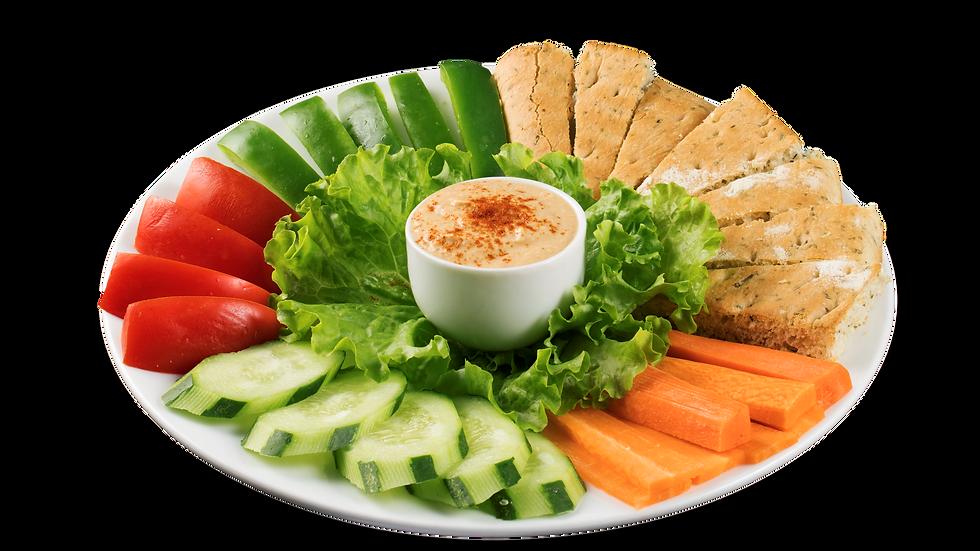 Veggie & Hummus Plate