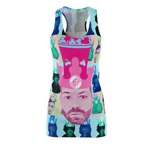 Popcorn Dynasty Women's Cut & Sew Racerback Dress