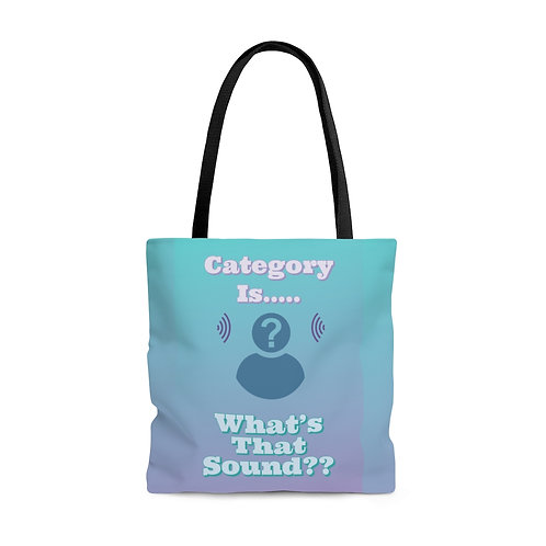 Category Is...AOP Tote Bag