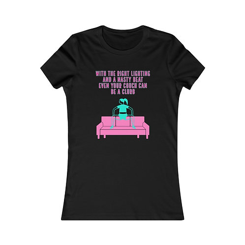 Clurb Couch Women's Favorite Tee