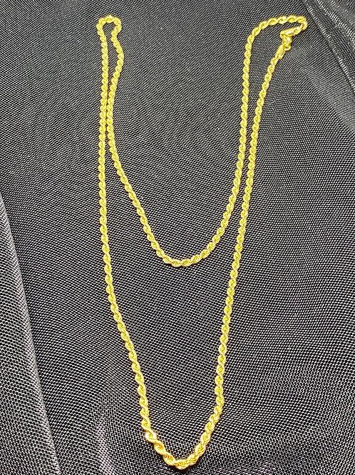 Halat Zincir 14 Ayar Altın