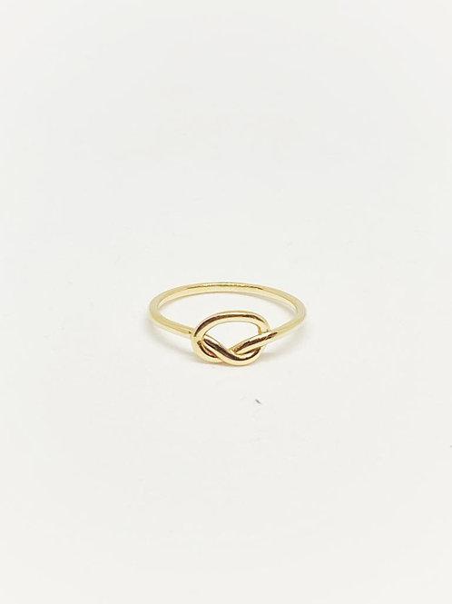 Aşk Düğümü Çıtır Yüzük 14 Ayar Altın