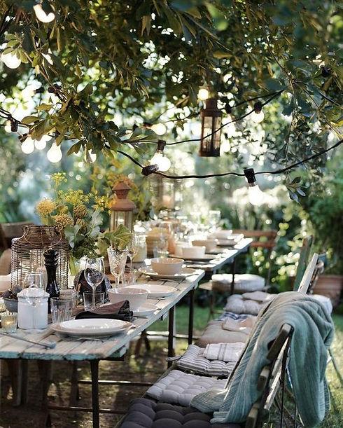שולחן ערוך לארוחות שף פרטיות של גיל הררי