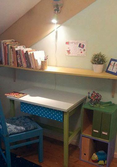 עיצוב, סידור וצביעת חדר ילדים