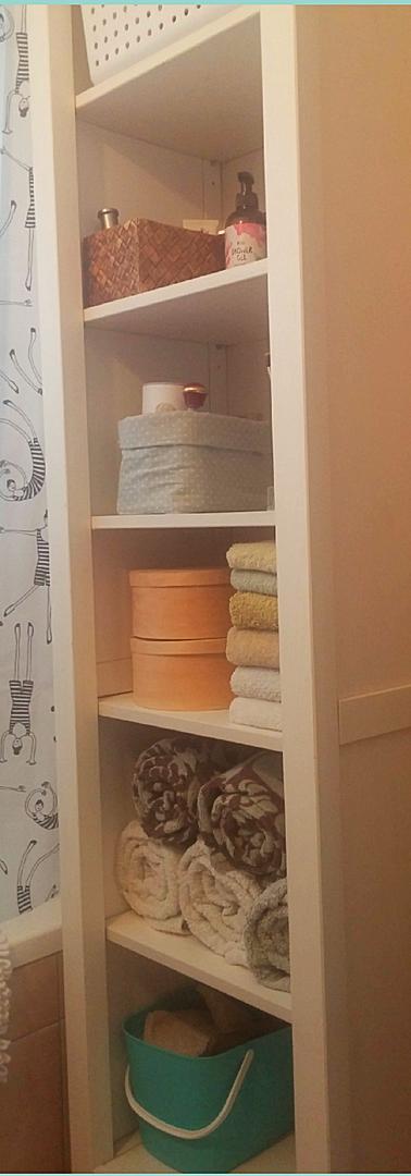 סידור ארון אמבטיה