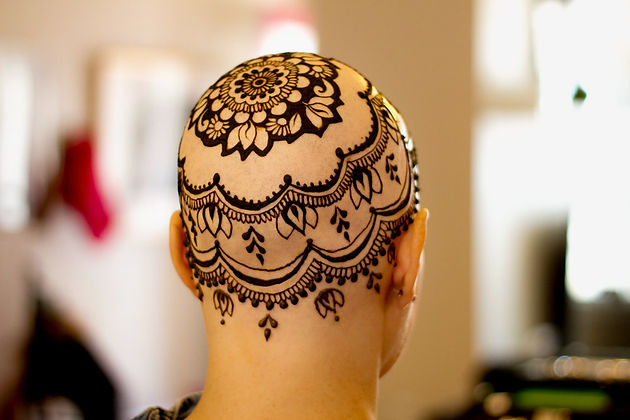 Leslie's Henna Crown