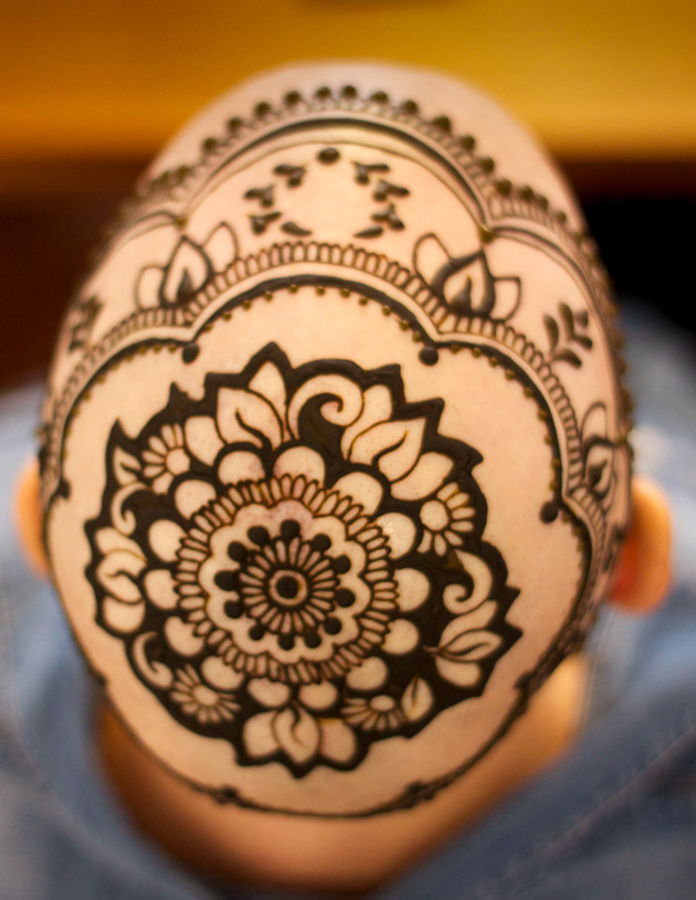 Leslie S Henna Crown Henna Planet Toronto Specializing In