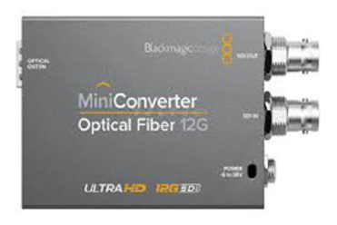 Converter Blackmagic Optical Fiber 12G Set 1