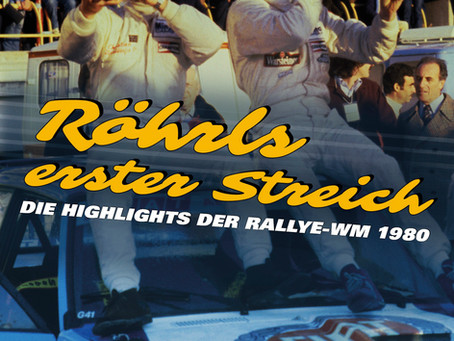 Röhrls erster Streich - Die Highlights der Rallye-WM 1980