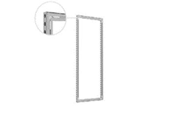 Rahmen Aluvison Omni-55 A3 1 x 2,5m