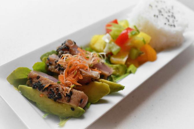 Seared Tuna Steaks