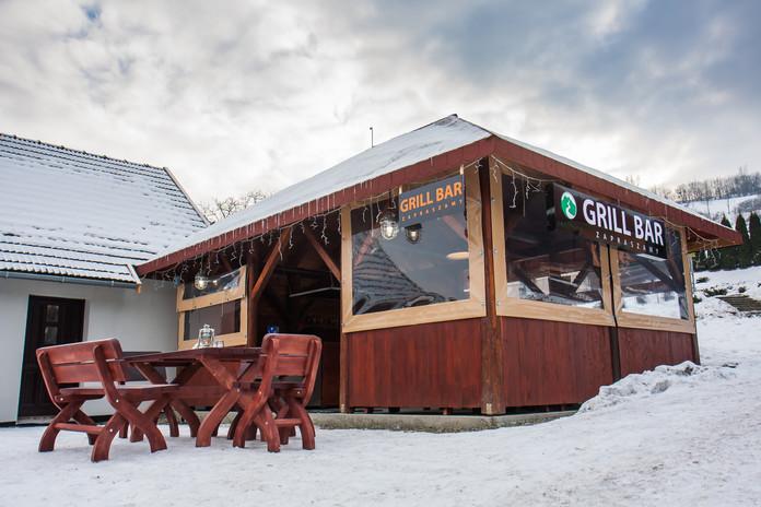 Zimowy Grill-bar