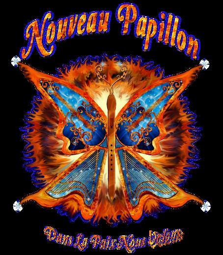 Nouveau Papillon Band Logo
