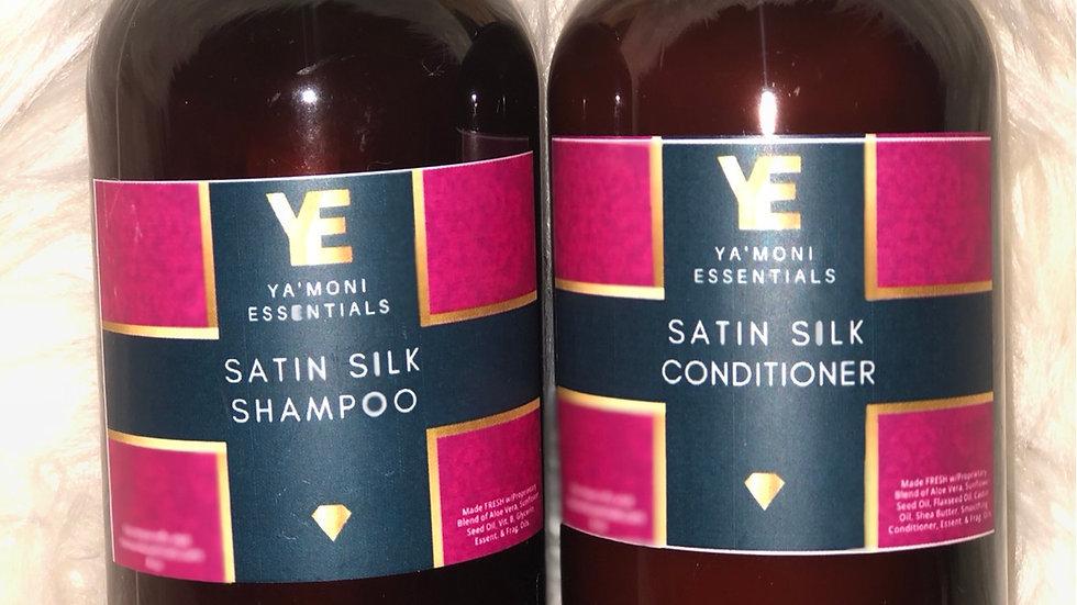 Satin Silk 2 Piece Shampoo & Conditioner