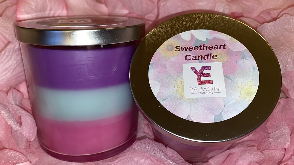 Sweetheart Soy Wax Candle