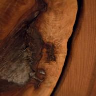 Walnut door detail