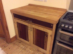 freestanding bespoke kitchen cabinet