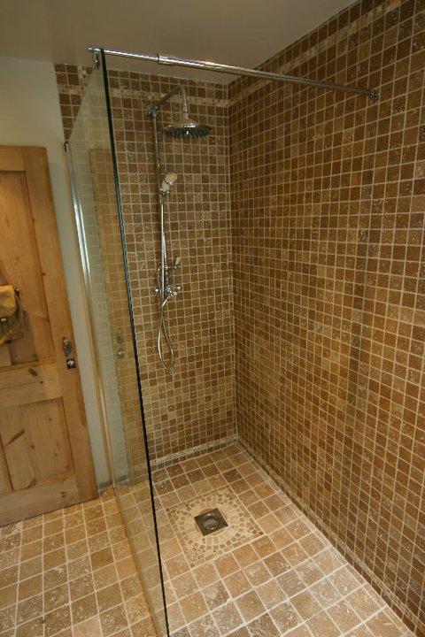 Shower wet room.