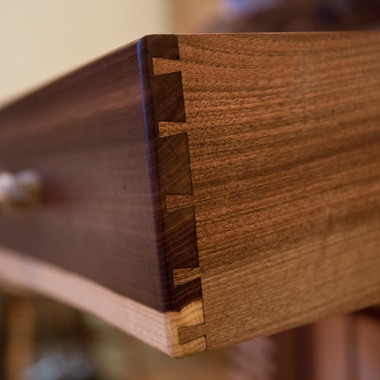 Hand made dovetail drawer