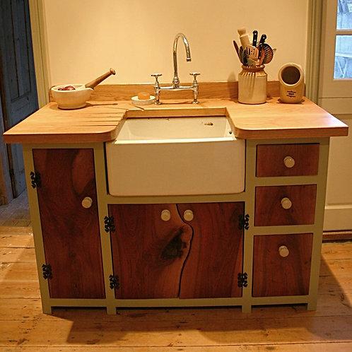 Belfast sink kitchen unit.