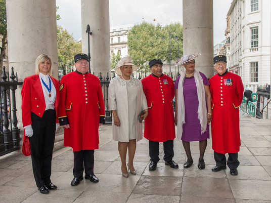 Chelsea Pensioners & Toastmaster