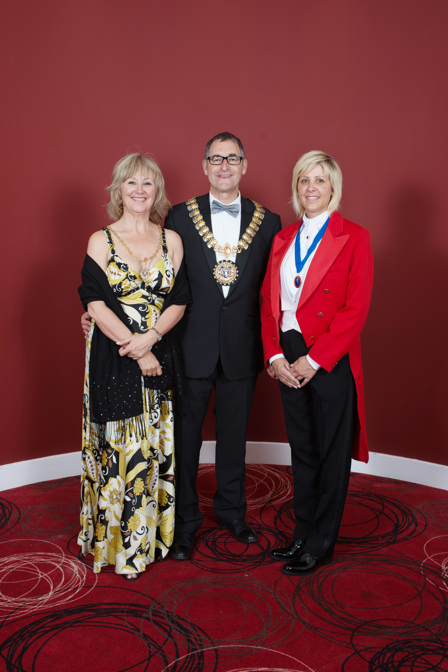 Sian with Mayor of Southend on Sea